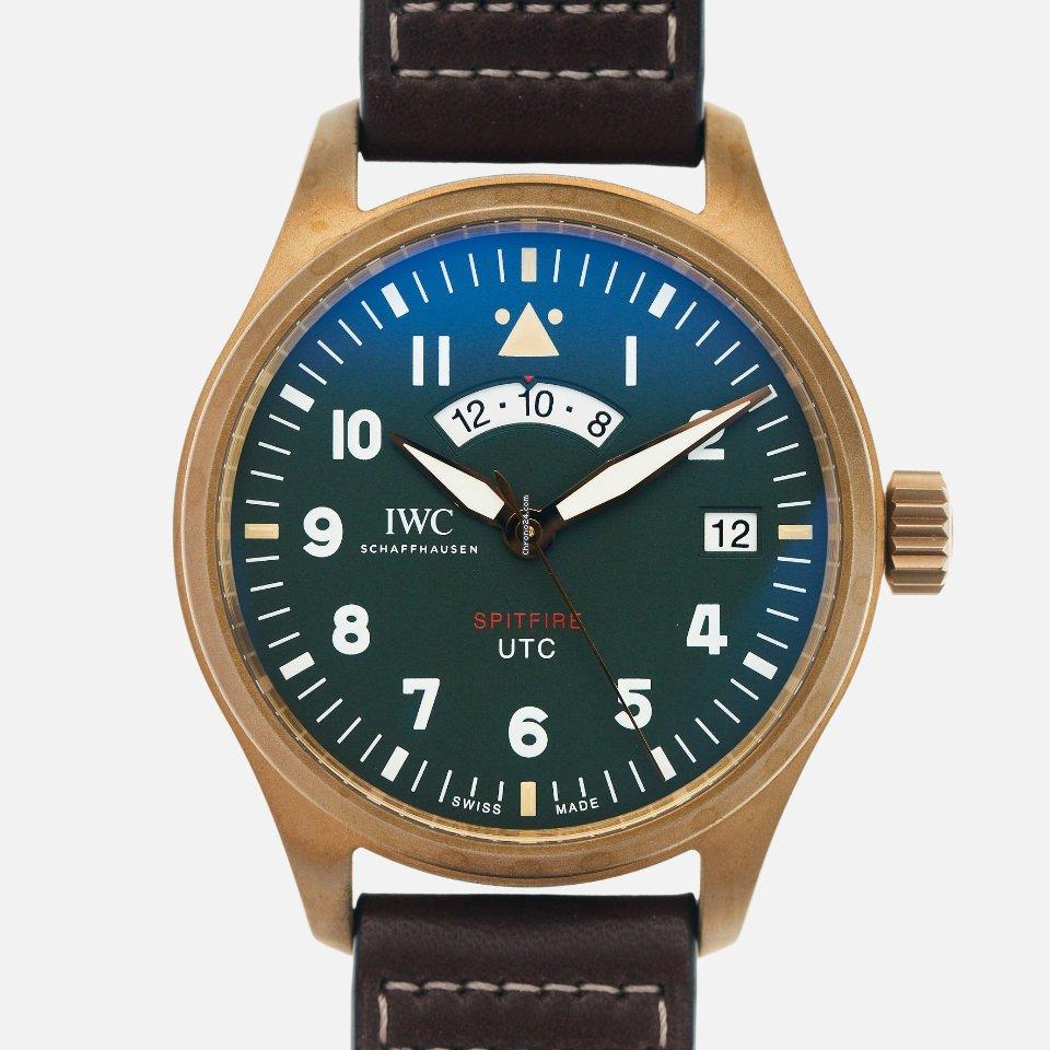IWC Pilot Spitfire UTC IW327101 2020 new