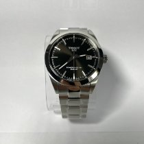 Tissot T-Classic Steel 40mm Black No numerals