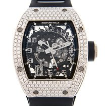 Richard Mille Red gold Automatic Transparent Arabic numerals 48mm pre-owned RM 010