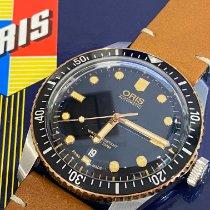 Oris 01 733 7707 4354-07 5 20 55 Steel 2020 Divers Sixty Five 40mm pre-owned