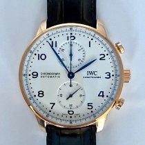 IWC Aur rosu Atomat Alb Arabic 41 mmmm nou Portuguese Chronograph