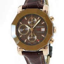Century Red gold Automatic Brown 42mm pre-owned