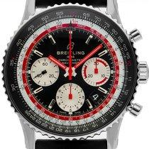 Breitling Navitimer 01 (46 MM) новые Автоподзавод Хронограф Часы с оригинальными документами и коробкой AB01211B1B1X1