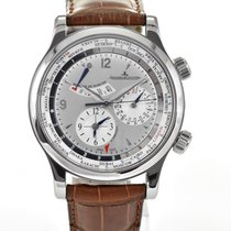 Jaeger-LeCoultre Master World Geographic Acero 40mm Plata