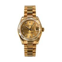 Rolex Datejust 178278 Unworn Yellow gold 31mm Automatic