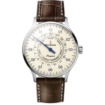 Meistersinger Steel Automatic Champagne Arabic numerals 40mm new Pangaea Day Date