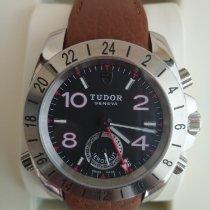 Tudor Sport Aeronaut Steel 41mm Black Arabic numerals