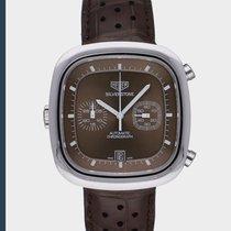 TAG Heuer Silverstone Steel 42mm Brown No numerals