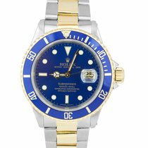 Rolex Gold/Steel Submariner Date 40mm pre-owned United States of America, New York, Massapequa Park