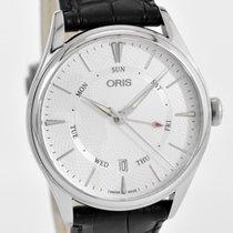 Oris Artelier Pointer Day Date Steel 40mm Silver