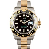 Rolex GMT-Master II 116713 Very good Gold/Steel 40mm Automatic
