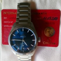 Omega 130.30.39.21.03.001 Staal Globemaster tweedehands