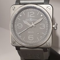Bell & Ross pre-owned Automatic 42mm Black Sapphire crystal 10 ATM