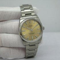 Rolex Oyster Perpetual 34 Steel 34mm Champagne Arabic numerals United States of America, Florida, Orlando