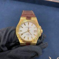 Vacheron Constantin Желтое золото Автоподзавод Белый Без цифр 37mm подержанные Overseas