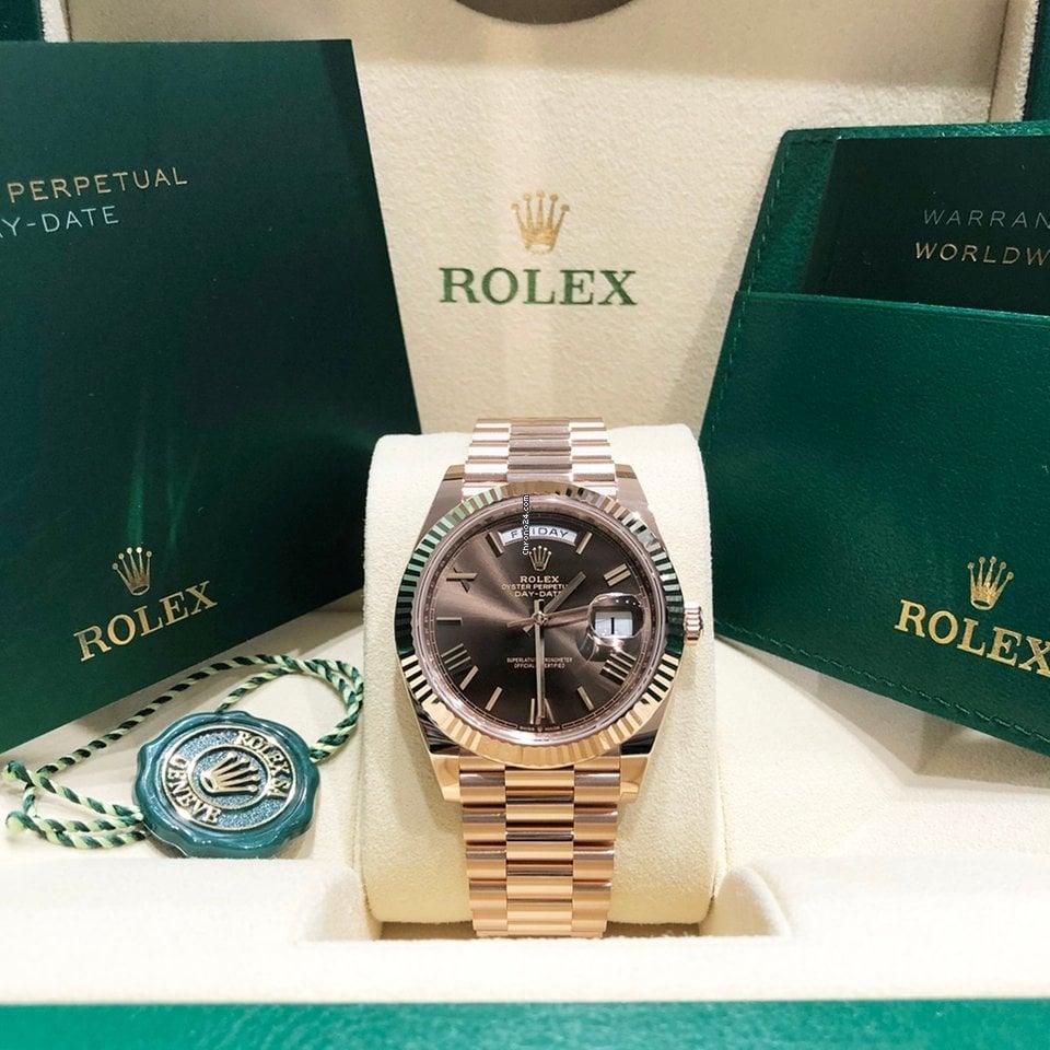 Rolex Day-Date 40 228235-0006 2021 new