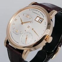 A. Lange & Söhne Grand Lange 1 Rose gold 40.9mm Silver Roman numerals United States of America, California, Los Angeles