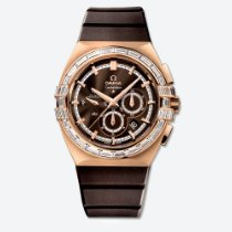 Omega Red gold Automatic Brown 41mm new Constellation Double Eagle