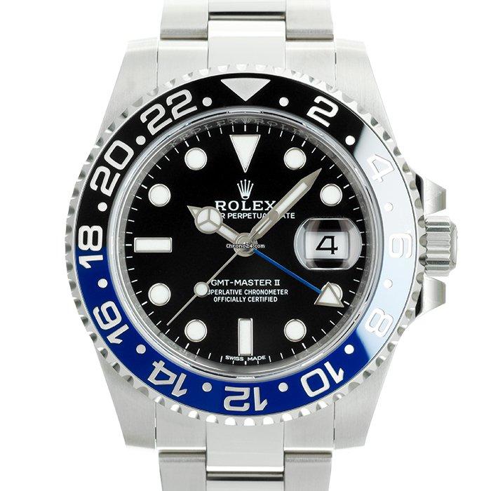 Rolex (ロレックス) GMT マスター II 116710BLNR 中古