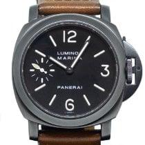 Panerai Luminor Marina Steel 44mm Black Arabic numerals Singapore