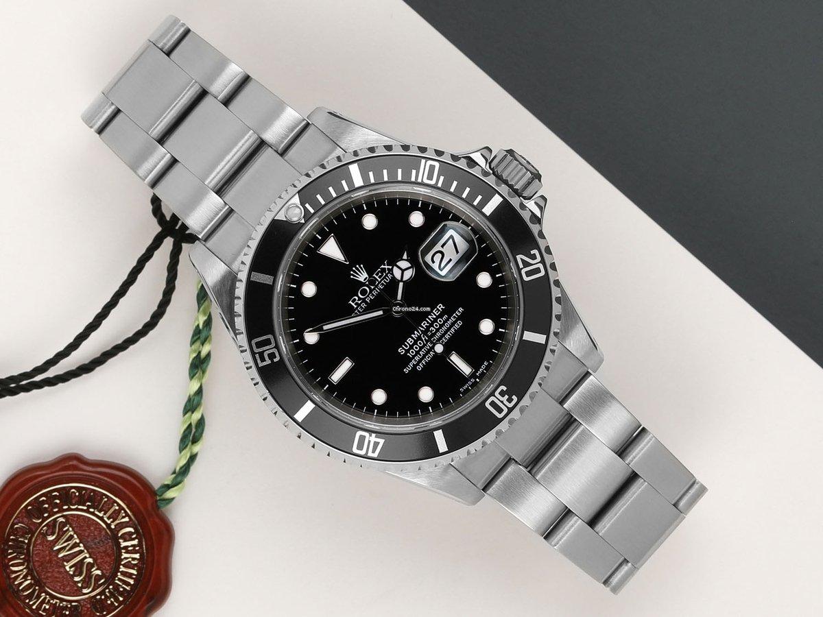 Rolex Submariner Date 16610 2003 tweedehands
