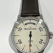 Meistersinger Urban Steel 40mm Arabic numerals