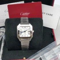 Cartier Santos (submodel) Stahl 35.1mm Silber Römisch