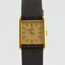 Omega De Ville pre-owned 16mm Leather