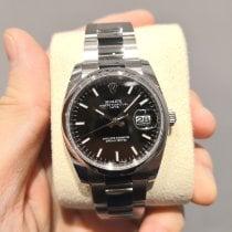 Rolex Oyster Perpetual Date Steel 34mm Black No numerals Malaysia, KUALA LUMPUR