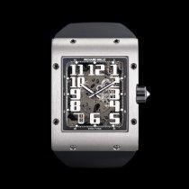 Richard Mille RM 016 White gold Transparent Arabic numerals