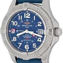 Breitling A32350 Steel Colt GMT 40mm pre-owned United States of America, Texas, Dallas