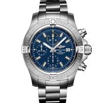Breitling Avenger новые Автоподзавод Хронограф Часы с оригинальными документами A13317101C1A1
