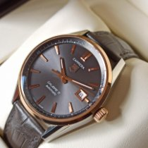 TAG Heuer Or rose Remontage automatique Or Sans chiffres 39mm occasion Carrera Calibre 5