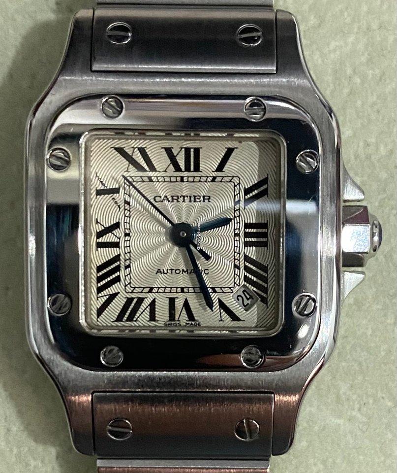Cartier Santos Galbée 2423 pre-owned