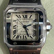Cartier Santos Galbée pre-owned 24mm Silver Date Steel