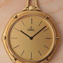 Ebel gebraucht Quarz 36mm Gold Saphirglas