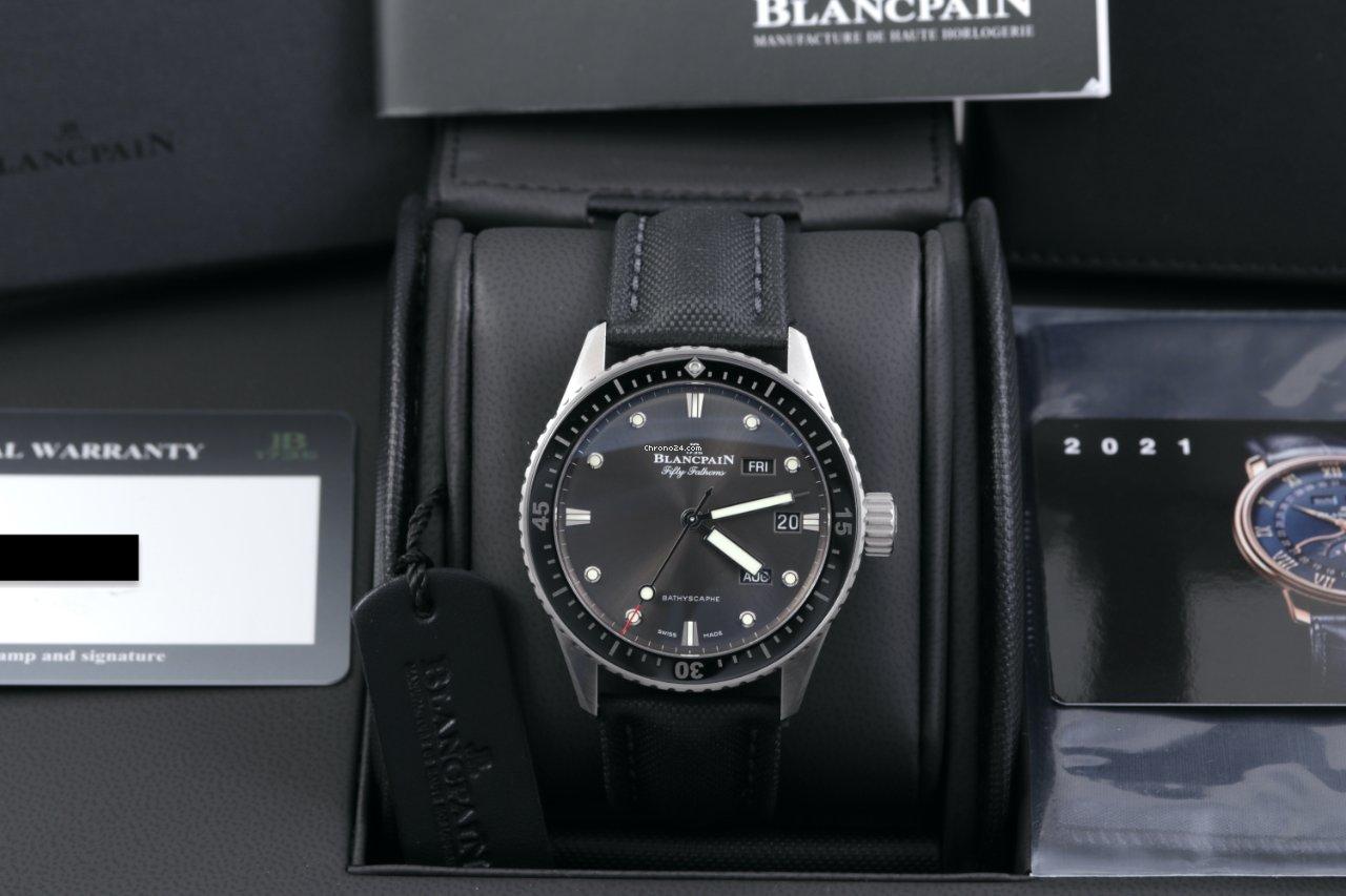 Blancpain Fifty Fathoms Bathyscaphe 5071-1110-B52A 2021 new