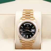 Rolex Day-Date 40 Yellow gold 40mm Black United States of America, California, Los Angeles