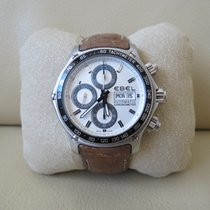 Ebel 1911 Discovery Staal 43mm Zilver