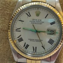 Rolex Datejust Золото/Cталь 36mm Белый Римские Россия, St. Petersburg