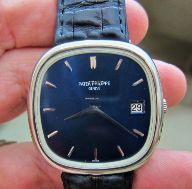 Patek Philippe Golden Ellipse 3604 1973 pre-owned