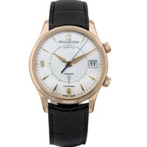 Jaeger-LeCoultre Rose gold Automatic Silver Arabic numerals 40mm new Master Memovox