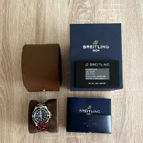 Breitling použité Automatika 42mm Černá Safírové sklo 50 ATM