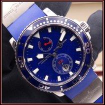 Ulysse Nardin Белое золото Автоподзавод Синий Без цифр 42.7mm подержанные Maxi Marine Diver
