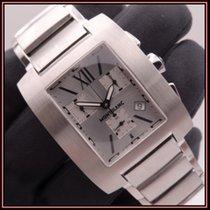 Montblanc Profile Steel 34mm Silver Roman numerals