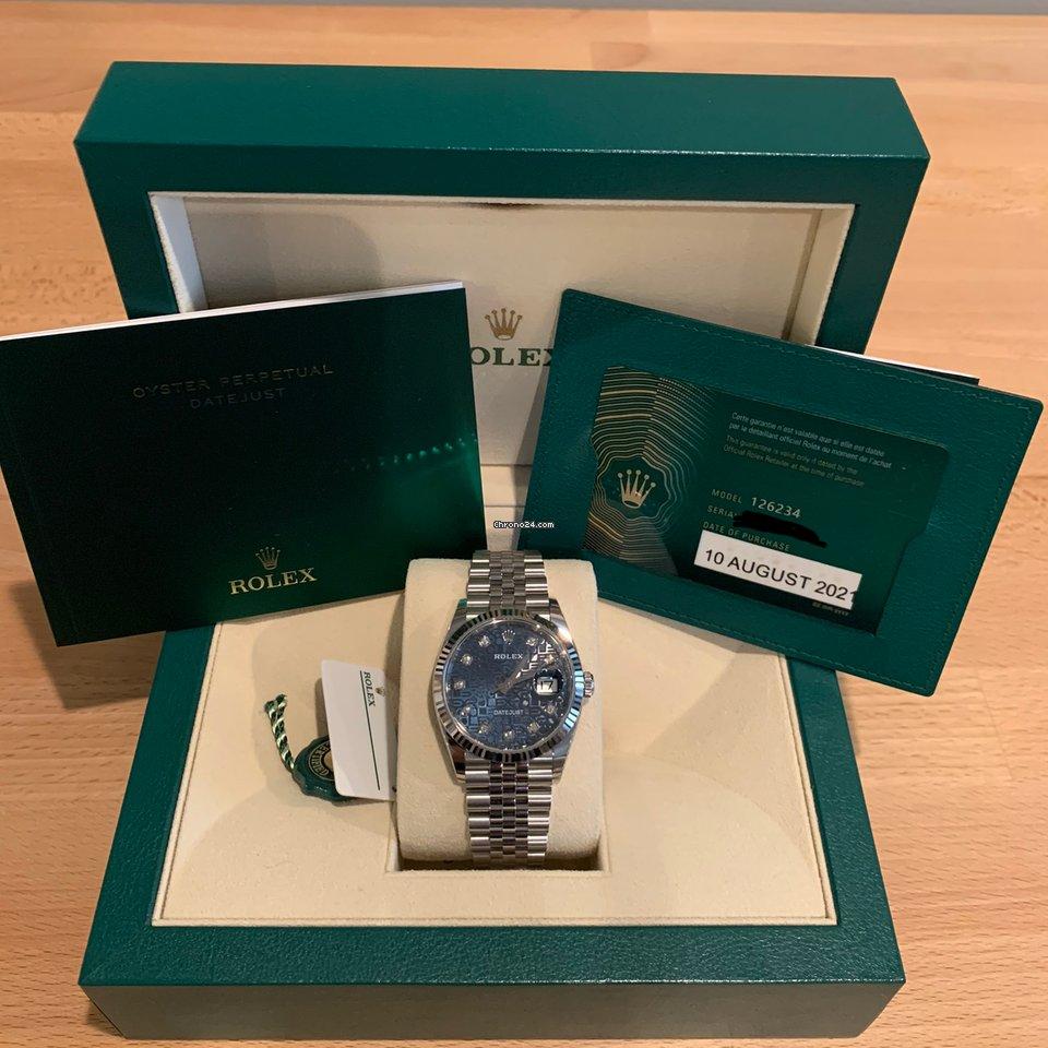 Rolex Datejust 126234-0011 2021 new