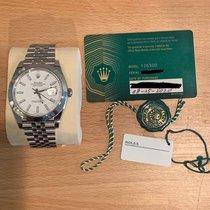 Rolex Datejust Steel 41mm White No numerals United States of America, Pennsylvania, Philadelphia