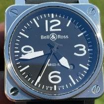 Bell & Ross BR 03-94 Chronographe Steel 42mm Black Arabic numerals United States of America, Texas, Houston
