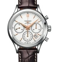 Longines Column-Wheel Chronograph new 2021 Automatic Chronograph Watch with original box and original papers L27504762