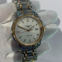 Longines Saint-Imier Steel Silver United States of America, Iowa, Des Moines